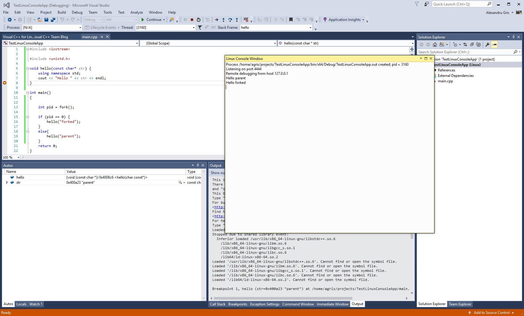 VM VC for Linux